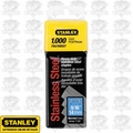 Stanley TRA709SST Stainless Steel Narrow Crown Staples