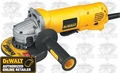 "DeWalt D28402 4-1/2"" (115mm) Small Angle Grinder"