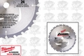 Milwaukee 48-40-4120 Carbide Circular Saw Blade