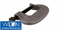 Wilton 14599 12-FC ''O'' SERIES C-CLAMP - FULL CLOSING SPINDLES 0'' - 12-1/4'' JAW OPENING 4-1/4'' THROAT DEPTH