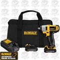 DeWalt DCF813S2 12V MAX* Cordless Impact Wrench Kit