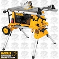 "DeWalt DW744XRS 10"" Compact Job Site Table Saw"