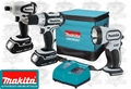 Makita LCT300W 18 Volt LXT Lithium-Ion Combo Kit