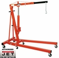 JET 106203K 2 Ton Shop Crane with Folding Legs