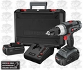 Porter-Cable PC180DK-2 Tradesman Cordless Drill Driver Kit