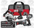Porter-Cable PCL418C-2 4-Tool Cordless Combo Kit