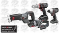 Porter-Cable PCL418IDC-2 Cordless 4-Tool Combo Kit