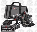 Porter-Cable PC218C-2 2 Tool Cordless Drill/Circular Saw Combo Kit