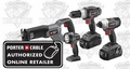 Porter-Cable PC418IDC-2 4-Tool Cordless Combo Kit