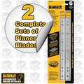 "DeWalt DW7352 2 2 Complete Sets Replacement 13"" Planer Blades"