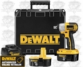 DeWalt DC820KA Heavy-Duty 18 Volt Pin Detent Impact Wrench Kit