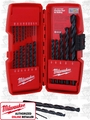 Milwaukee 48-89-2801 21pc Thunderbolt Black Oxide HSS Drill Bit Kit