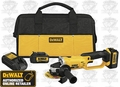 "DeWalt DCG412L2 4-1/2"" Cut-Off Tool Kit"