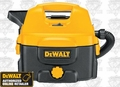 DeWalt DC500 Heavy-Duty 2 Gallon Cordless or Corded Wet/Dry Vac
