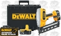 DeWalt DC618KA 16 Gauge XRP 20 degree Angled Finish Nailer