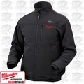 "Milwaukee  M12 Cordless Black Heated Jackets ""ALL"""