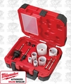 Milwaukee 49-22-4095 Electricians Ice Hardened Hole Saw Kit