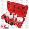 Milwaukee 49-22-4155 Master Plumbers Ice Hardened Hole Saw Kit