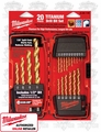 Milwaukee 48-89-1105 Titanium Drill Bit Set