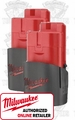 Milwaukee 48-11-2401 12V M12 Lithium-Ion Battery