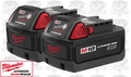 Milwaukee 48-11-1828 18v XC M18 Lithium-Ion Cordless Battery