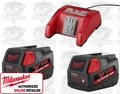 Milwaukee 48-11-1833 Lithium-Ion Battery & Charger Multi-Pack