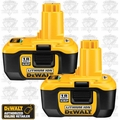 DeWalt DC9180-2 18V NANO Lithium-Ion Batteries