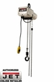 JET 110100 1/8 TON 10' LIFT ELECTRIC HOIST 115V