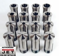 JET 650014 CS-5C 16-piece 5-C Collet Set for Lathes and Grinders