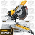 "DeWalt DW718 12"" (305mm) Double-Bevel Sliding Compound Miter Saw"