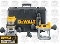 DeWalt DW618PK EVS Fixed Base/Plunge Router Combo Kit
