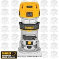 DeWalt DWP611 VS Compact Router-Base New Open Box