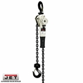 JET 315020 1.6 Ton LEVER Hoist W/ 20' Lift AND OLOAD PROT