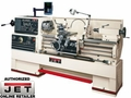 JET 321502 LATHE WITH DP700 WITH COLLET CLOSER & TAPER ATTACHMENT