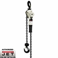 JET 360015 6-Ton Lever Hoist w/ 15' Lift & Overload Protection