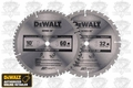 "DeWalt DW3106 2-Pack 10"" Carbide Saw Blades (DW3106P5)"