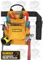 DeWalt DG5333 10-Pocket Carpenter's Suede Nail and Tool Bag