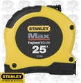 Stanley 33-298 Engineer's Scale Tape Measure