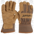 "Carhartt  Lined Suede Cowhide Palm Gloves ""ALL"""