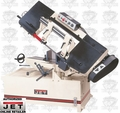 JET 414477 3HP 3PH 230/460V Horizontal Mitering Band Saw