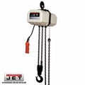 JET 121100 1/2SS-1C-10 1/2T 1PH 10' Lift 115/230V SSC Electric Hoist