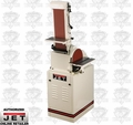 "JET 414550K J-4210K 1HP 1PH 115V 6 x 48 Belt & 10"" Disc Sander"