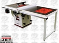 "JET 708678PK JTAS-10XL50-1PK 10"" Deluxe Xacta Table Saw"