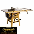 Powermatic 1791230K 10'' Tablesaw 50'' Accu-Fence+ RIVING KNIFE