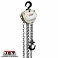 JET 101200 L100-250WO-10 1/4 Ton Hoist W/ 10' Lift PLUS Overload Protection