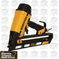 Bostitch N62FNK-2 15 Gauge 25 Deg. Oil-Free Angled Finish Nailer Kit