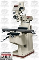 JET 690062 JTM-1050EVS/460 3HP 3PH 460V Vertical Milling Machine + R-8 Taper