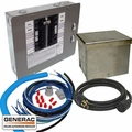 Generac 6295 30 AMP 10 ~ 16 Circuits Pre-Wired Manual Transfer Switch Kit