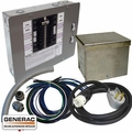 Generac 6296 50 AMP 12 ~ 16 Circuit Prewired Manual Transfer Switch Kit