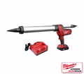 Milwaukee 2642-21CT 20 Ounce - Sausage Cordless Caulking Gun